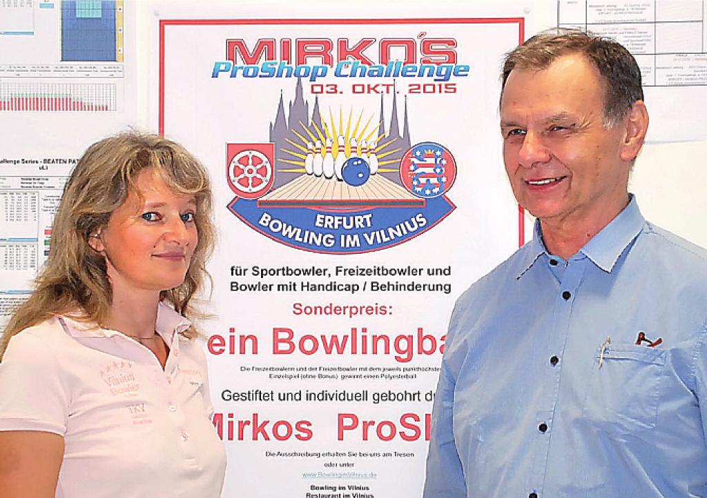 Carmen Frey, Ludwig Reiter, Bowling Erfurt